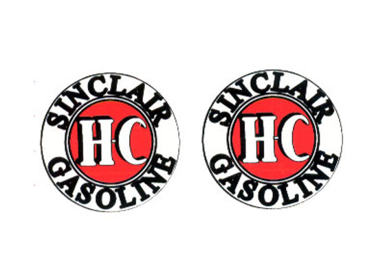 Sinclair Gas Decals