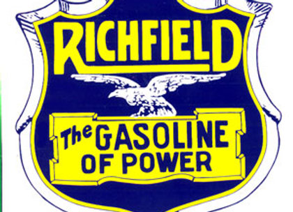 Richfield Gasoline of Power Decals