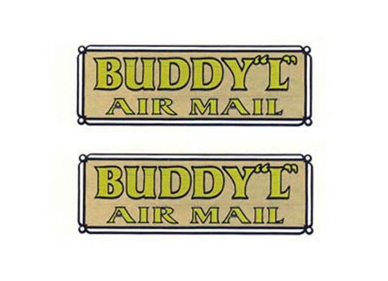 BUDDY L AIR MAIL DECALS