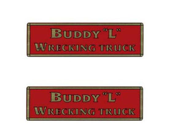 BUDDY L WRECKING TRUCK