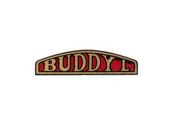 BUDDY L GRILL DECAL