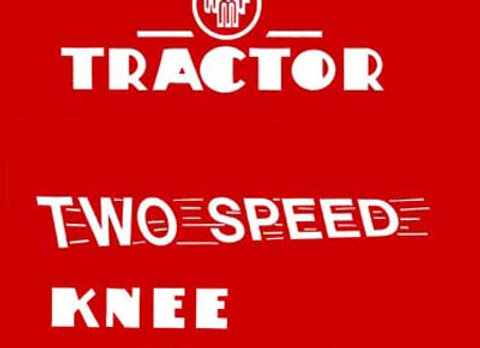 AMK TWO SPEED PEDAL CAR TRACTOR DECALS