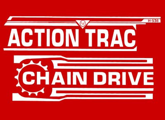 AMF ACTION TRACTOR DECALS
