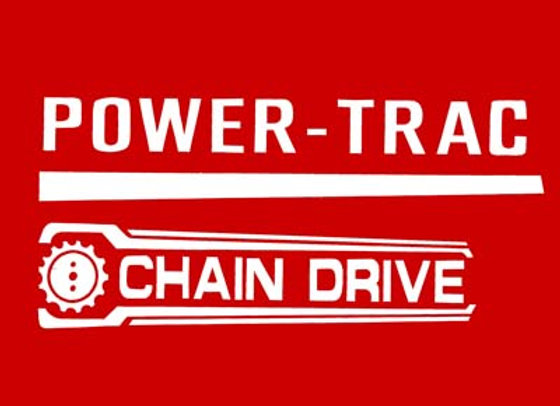 AMF POWER TRAC  DECALS