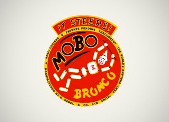 Mobo Bronco Chest Decals