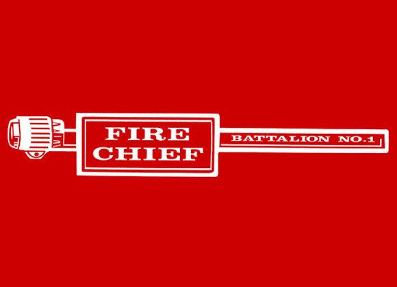 FIRE CHIEF BATTALION DECALS