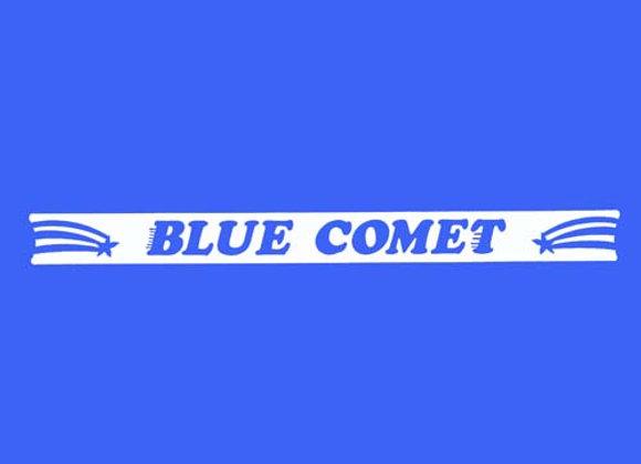 Blue Comet Wagon decals