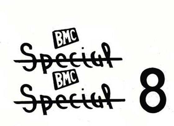 BMC 8 Ball Special Decals