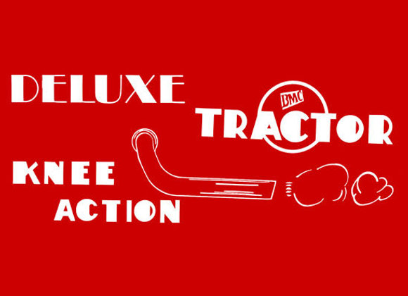 BMC DELUXE KNEE ACTION PEDAL TRACTOR DECAL SET