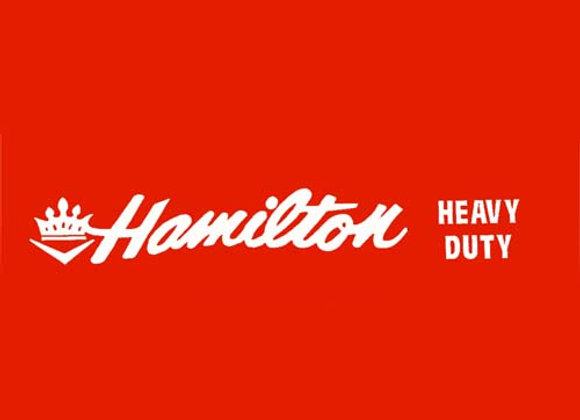 Hamilton Heavy Duty Wagon Decals