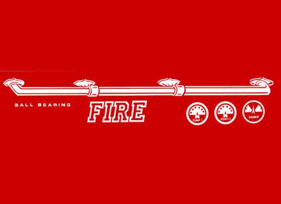 MURRAY SUPER DELUXE FIRE TRUCK 1959-1962