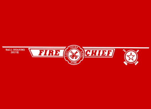 MURRAY FIRE CHIEF DECALS