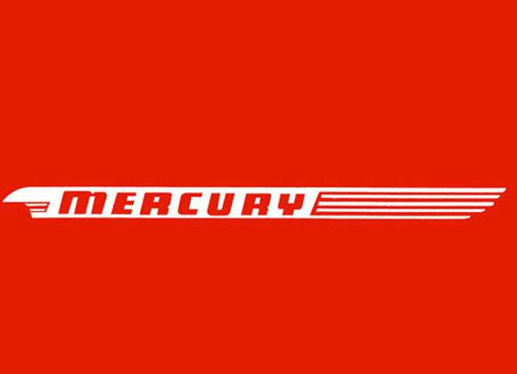 Mercury Wagon Decals