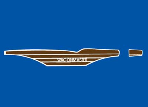 Wagon Master Pedal Car Decals