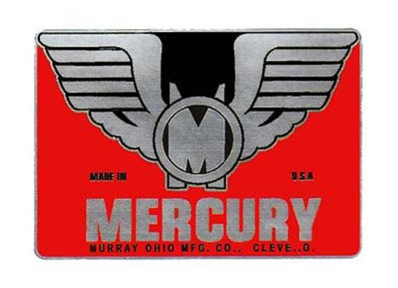 Mercury Headbadge Decal