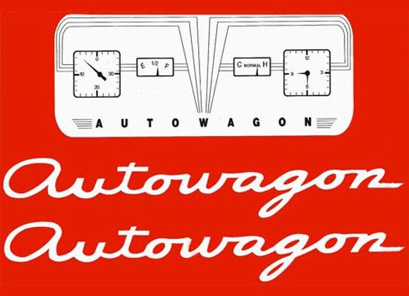 Autowagon Decals
