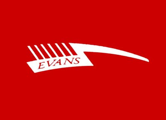 Evans Tricycle Fender Decals