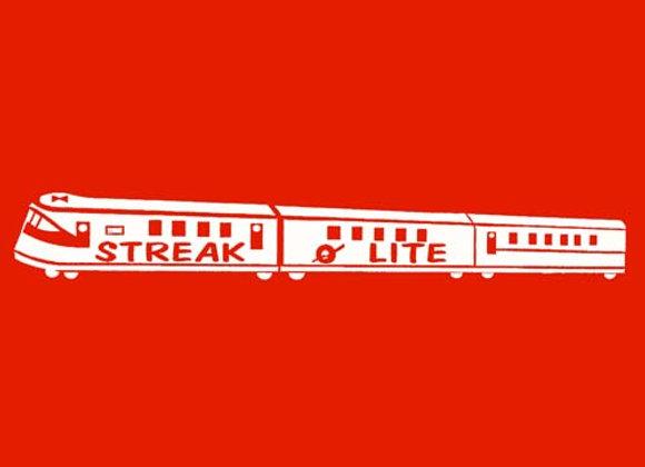 Streak O Lite Wagon Decals