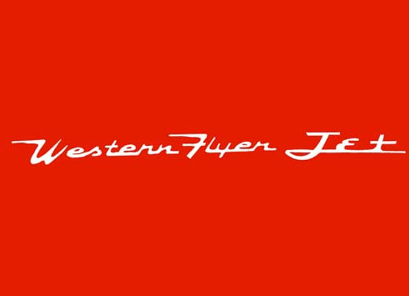 Western Flyer Jet Wagon Decals