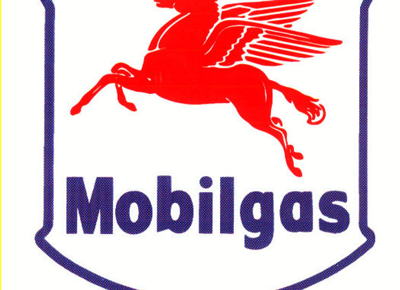Mobil Gas Decals