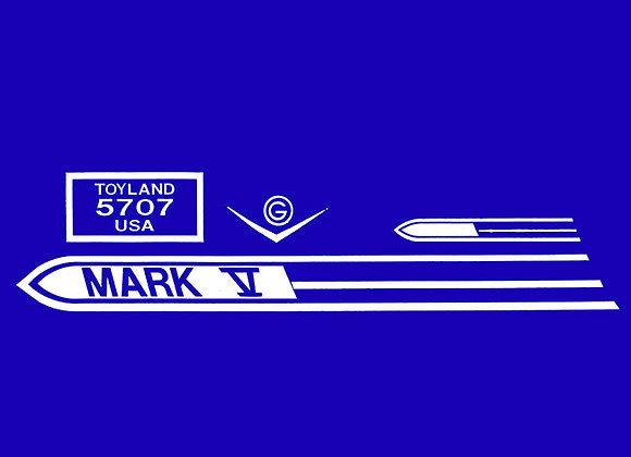 Garton Mark V decals 1958-59
