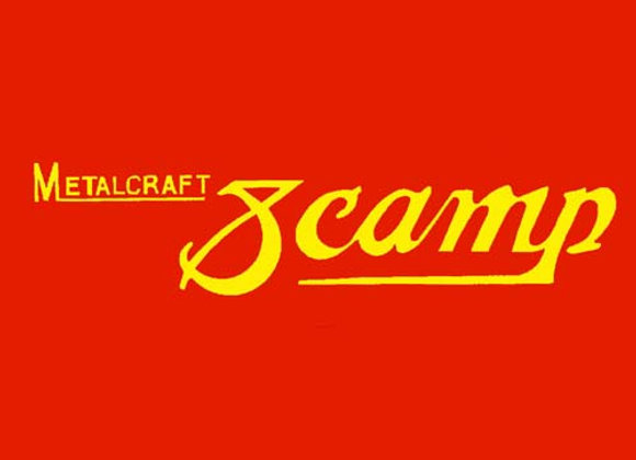 MetalCraft Scamp Wagon Decals