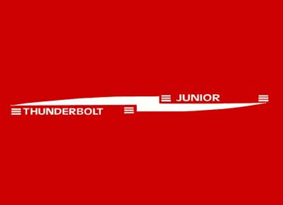 Thunderbolt Junior Decals