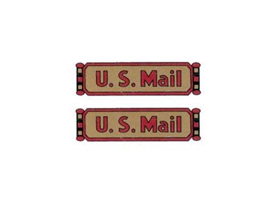 US MAIL DECALS