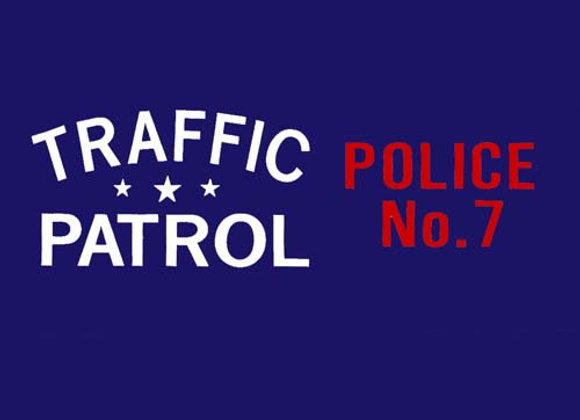 Traffic Patrol Three Wheeler Decals