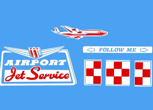 Airport Jet Service Decals