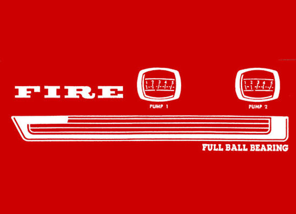MURRAY FIRE CAR DECALS