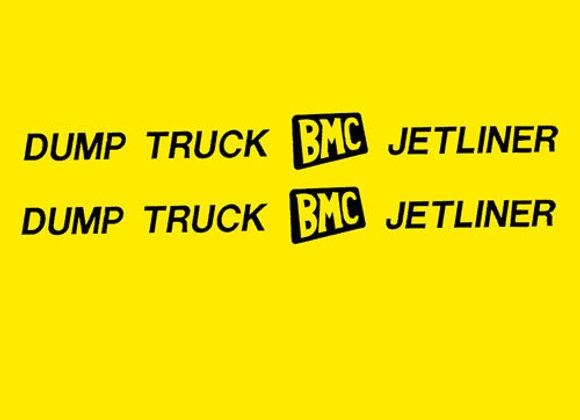 BMC DUMP TRUCK JETLINER