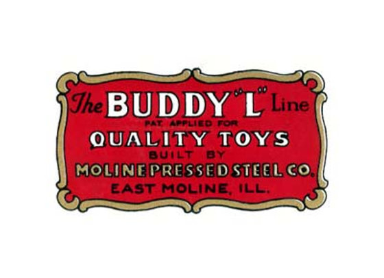 BUDDY L QUALITY TOYS DECALS