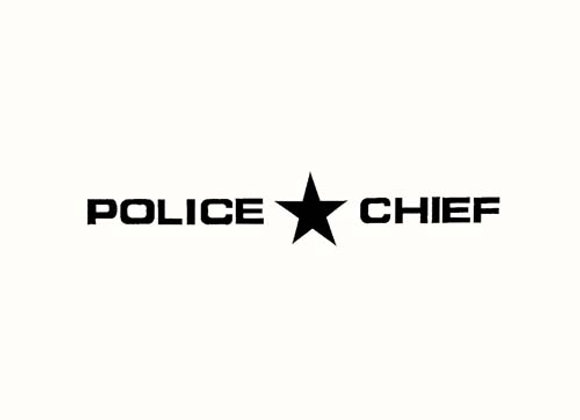 POLICE CHIEF DECALS