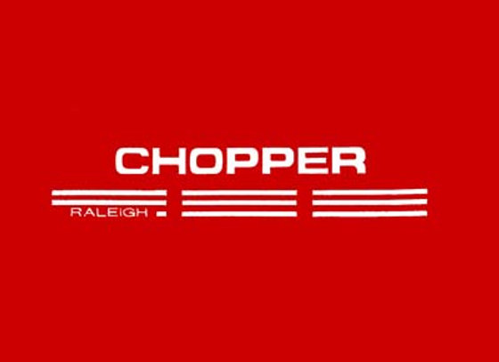 Chopper Bike Side Decals