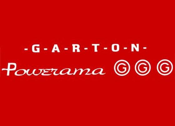 GARTON POWERAMA PEDAL TRACTOR DECALS