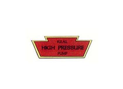 KEYSTONE HIGH PRESSURE DECAL