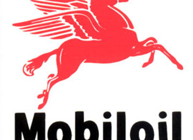 Mobil Oil Decals