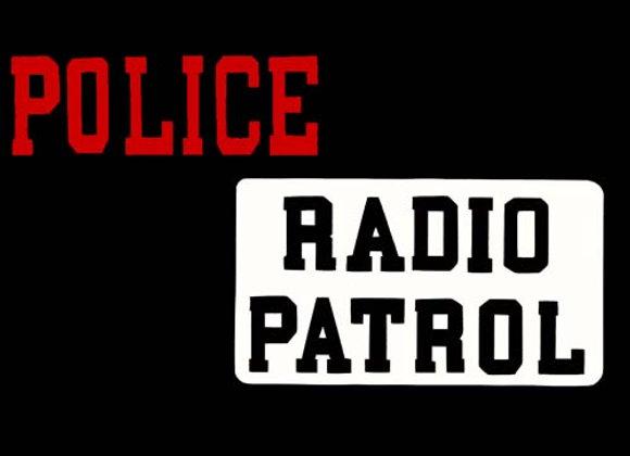 Police Radio Patrol Three Wheeler