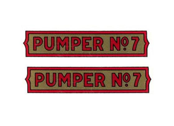 STURDITOY PUMPER NO.7