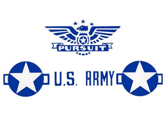 MURRAY ARMY PURSUIT PLANE DECALS