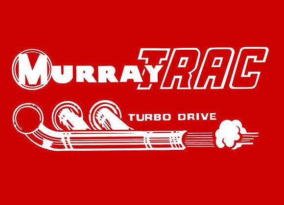 MURRAY TRAC PEDAL CAR DECAL SET