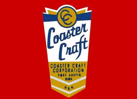 Coaster Craft Scooter Decal