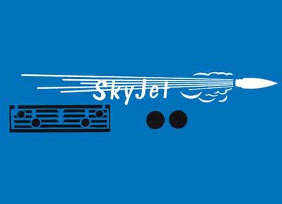 Sky Jet Pedal Car Decals
