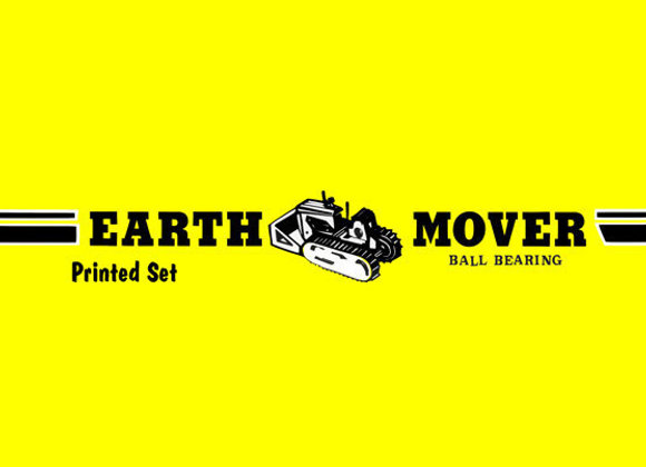 Earth Mover Pedal Car Decals