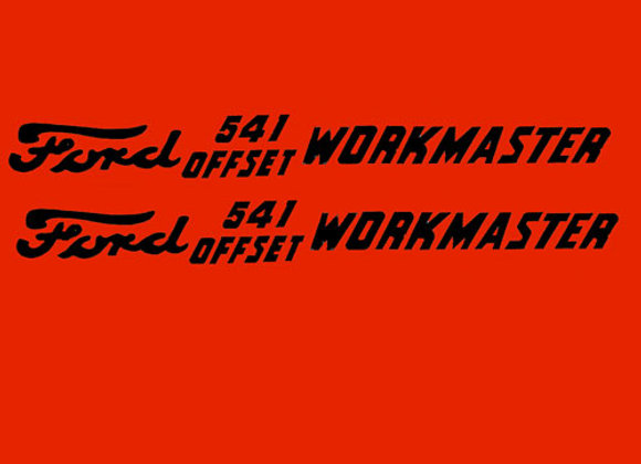 FORD 541 WORKMASTER DECAL SET