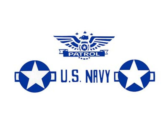 MURRAY US NAVY PATROL PLANE DECALS