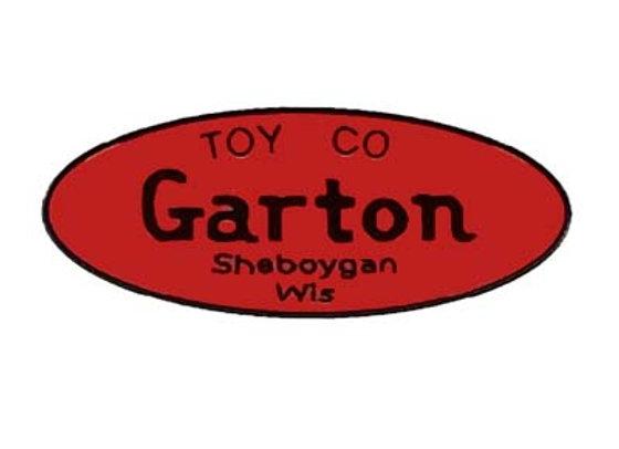 GARTON SEAT LABEL