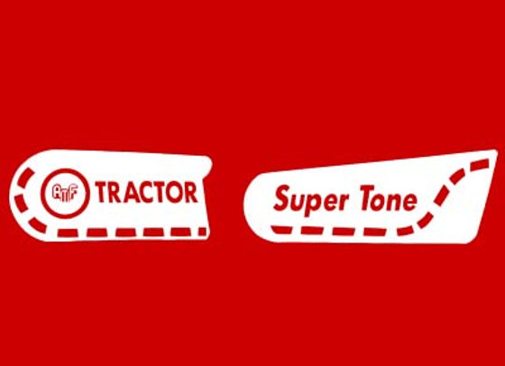 AMF SUPER TONE PEDAL TRACTOR DECALS