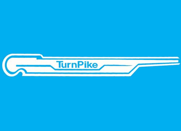 Turnpike Pedal Car Decals